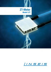LZT Meter Product brochure (PDF)