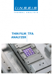 Product brochure TFA (PDF)
