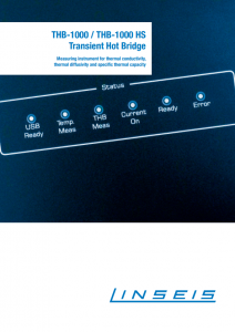 THB 1000 Product brochure (PDF)