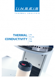 Linseis Produktbroschüre Thermal Conductivity