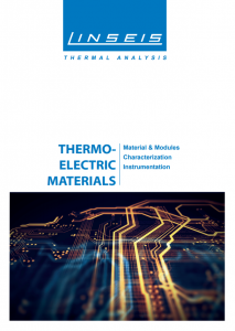 Product brochure Thermoelectric (PDF)